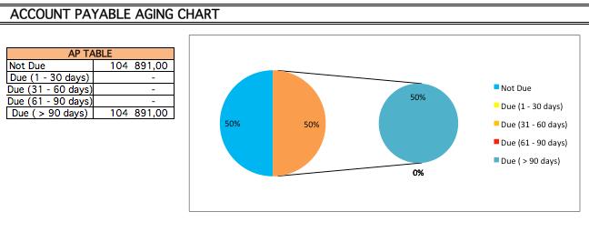 Account Payable chart