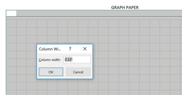 Cartesian Grid Paper Template Column Width