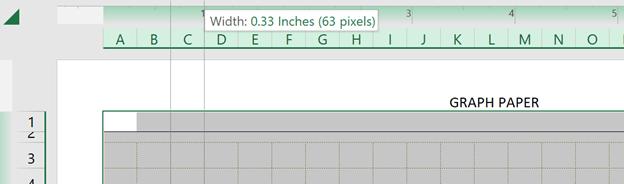 Cartesian Grid Paper Template Dragging