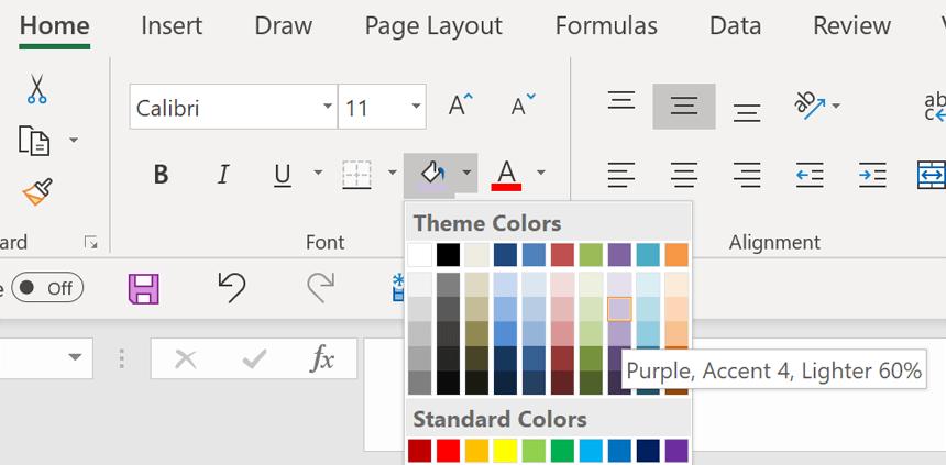 Change Color Scheme