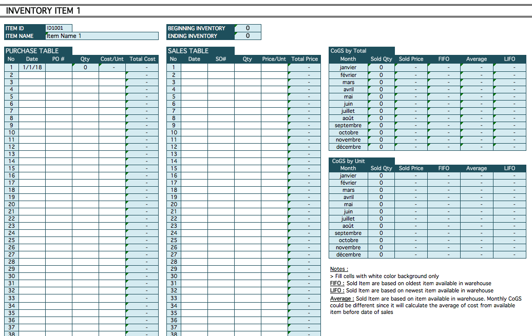 Schedule Of Cost Of Goods Sold Template from spreadsheetpage.com