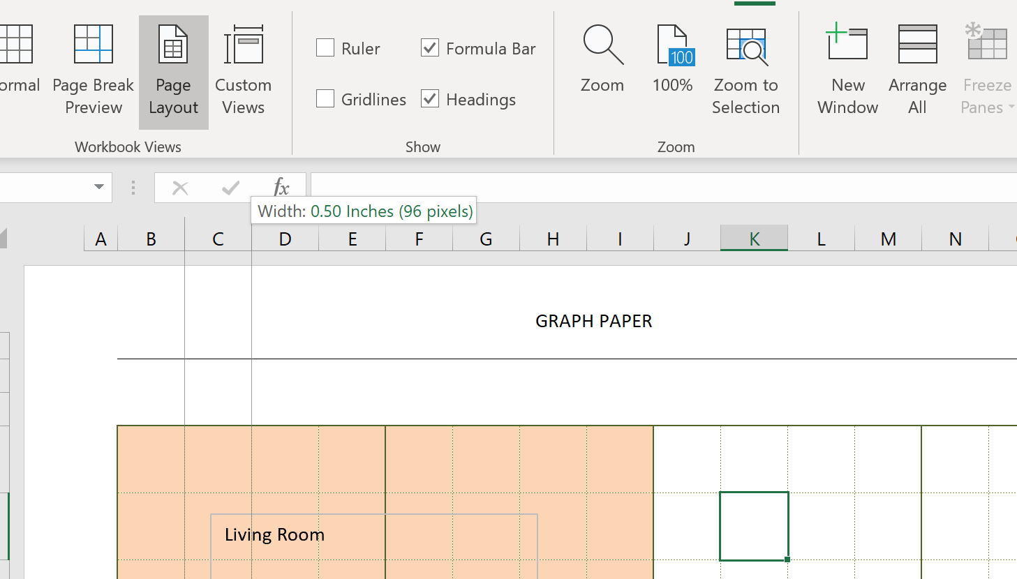 Engineering Graph Paper Template Dragging