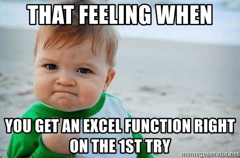 Excel Jokes Functions