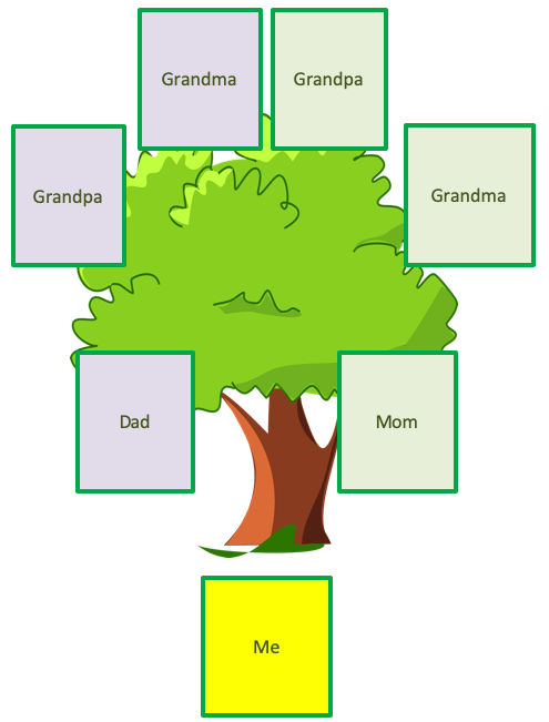 Family Tree Template Kids