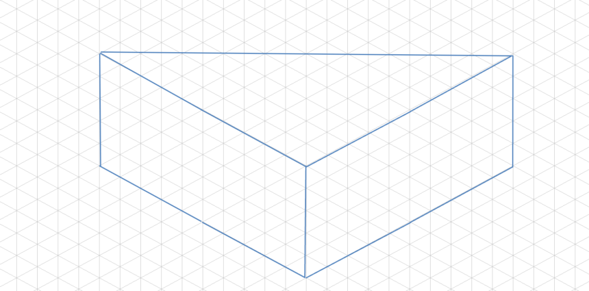 Isometric Graph Template Triangle