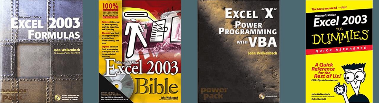 John Walkenbach Books Excel 2003