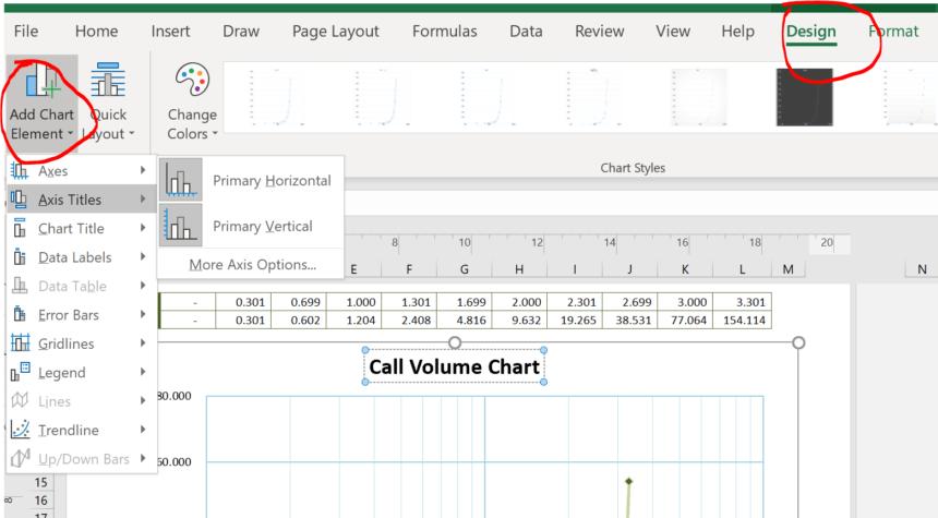 Logarithmic Graph Paper Template Add Chart