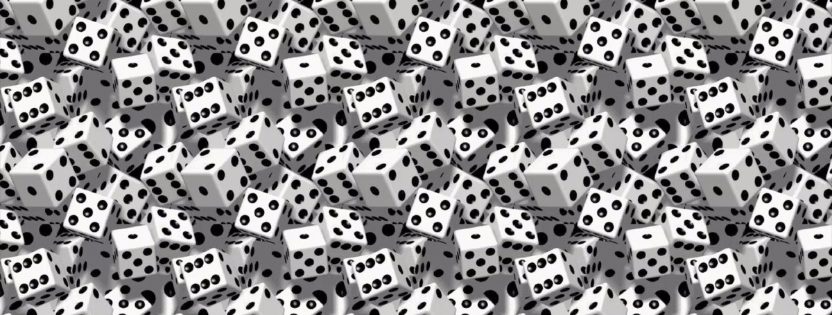 Many dice background