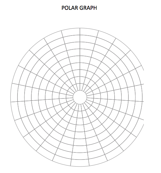 Polar Graph Paper Template
