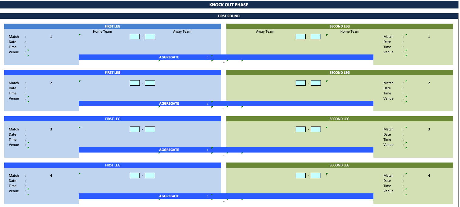 UEFA Europa League Knock Out Phase