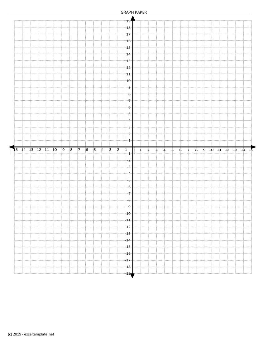 Graph Paper Template With Numbers from spreadsheetpage.com