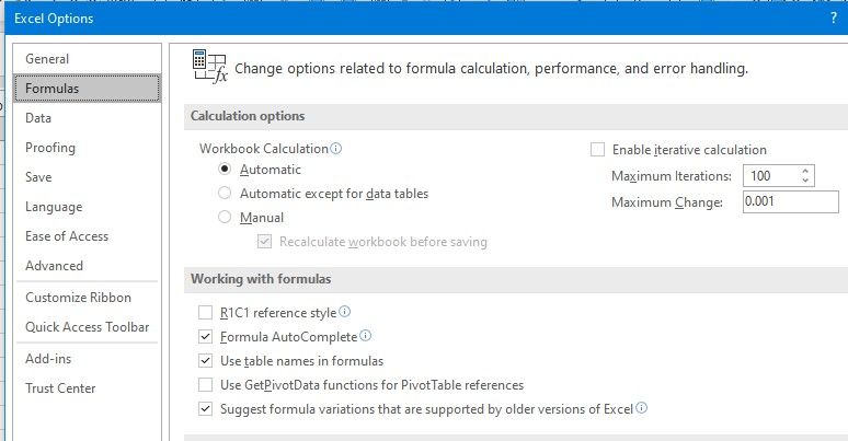 file-option-formulas window