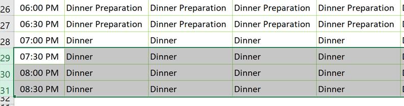 homeschool schedule add time