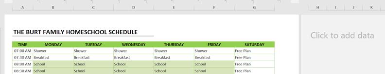 homeschool schedule paste new