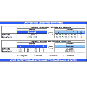 Latitude Longitude Calculator