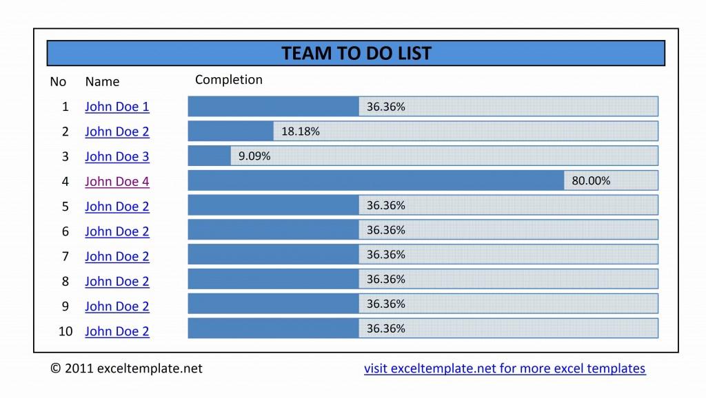 Team To Do List V1.0